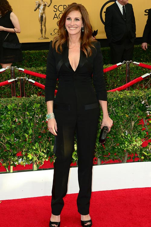 SAG Awards 2015 Red Carpet Fashion: Julia Roberts