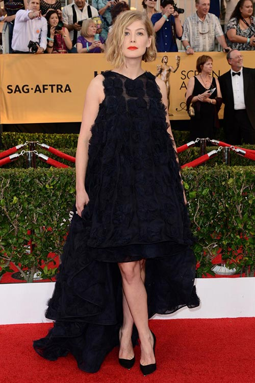 SAG Awards 2015 Red Carpet Fashion: Rosamund Pike