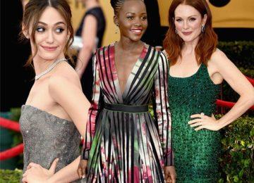 SAG Awards 2015 Red Carpet Fashion: Best Dressed Celebrities