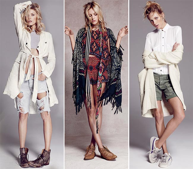 Anja Rubik for Free People Resort 2015 Collection