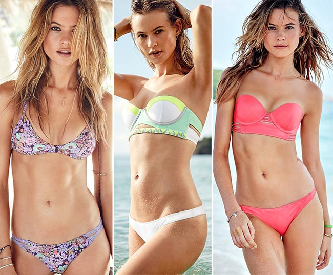 Behati Prinsloo Presenting Victoria's Secret Swimwear 2015