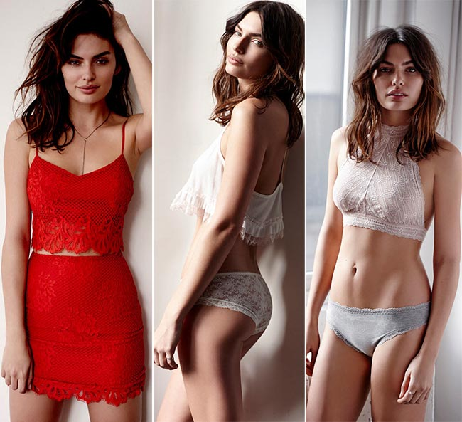 Free People Valentine's Day 2015 Lingerie Lookbook
