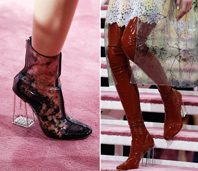 Spring 2015 Couture Accessories: Dior Couture Spring 2015 Shoes