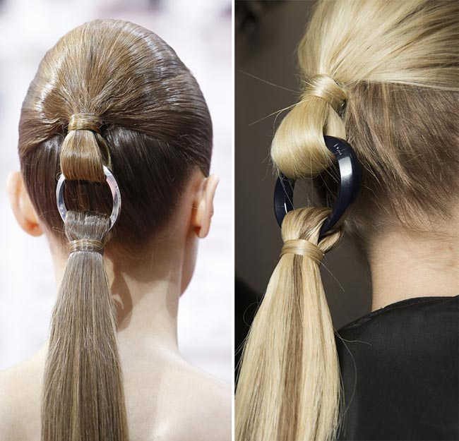 Spring/ Summer 2015 Couture Beauty Trends: Hairstyles