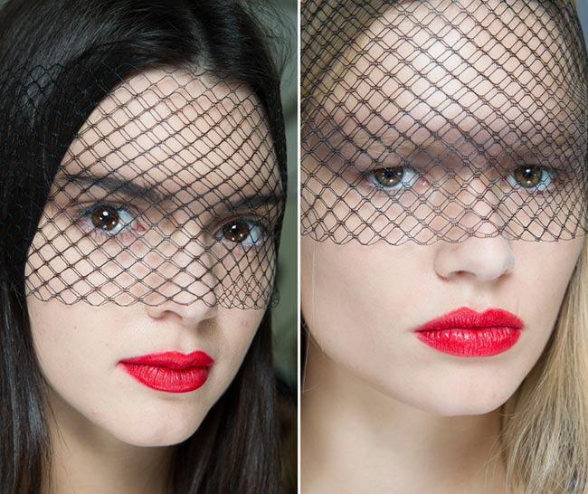 Spring/ Summer 2015 Couture Beauty Trends: Red Lips