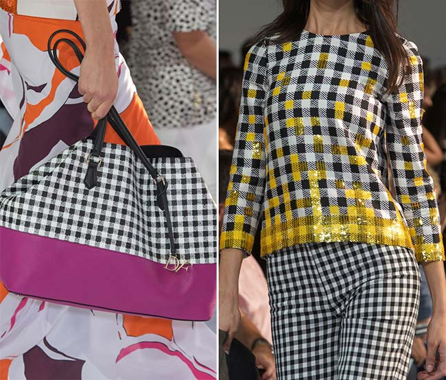Gingham Print Trend for Spring/Summer 2015