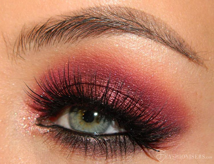 Step-by-Step Marsala Makeup Tutorial