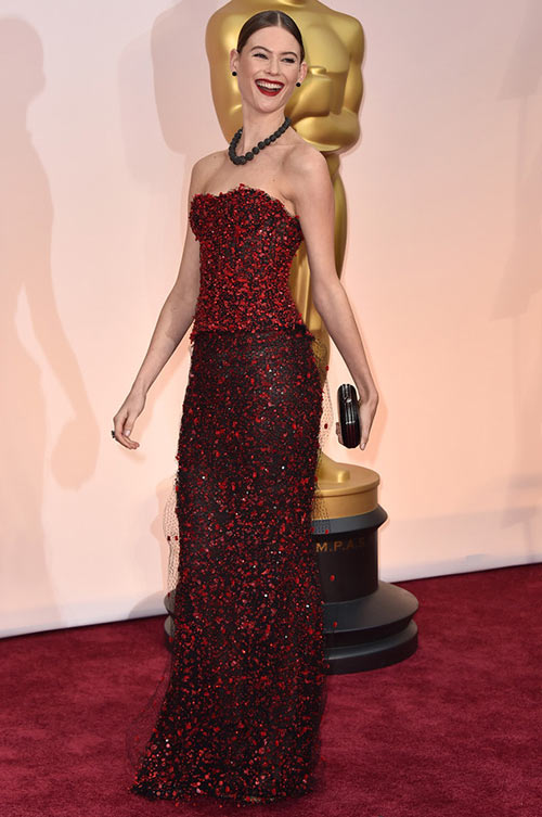 2015 Oscars Red Carpet Fashion: Behati Prinsloo