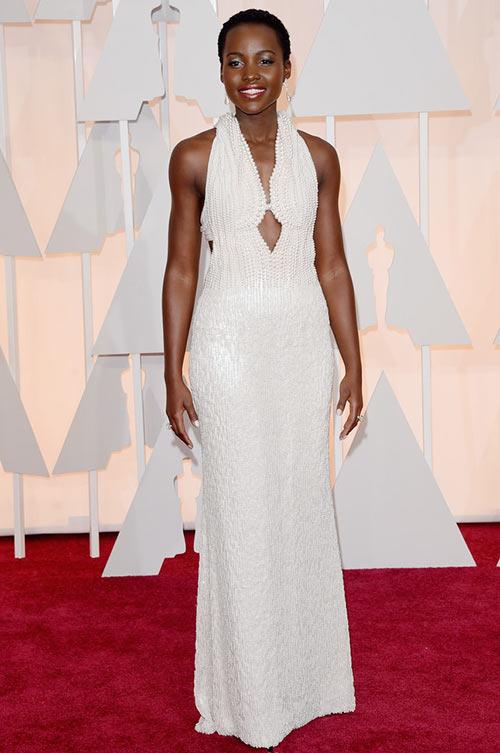 2015 Oscars Red Carpet Fashion: Lupita Nyong'o