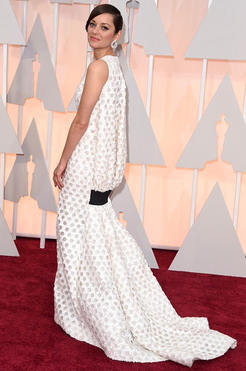 2015 Oscars Red Carpet Fashion: Marion Cotillard