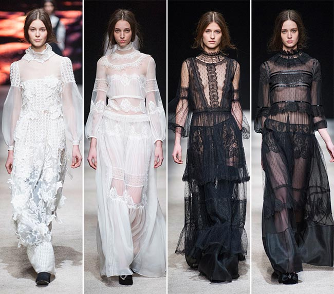 Alberta Ferretti Fall/Winter 2015-2016 Collection - Milan Fashion Week