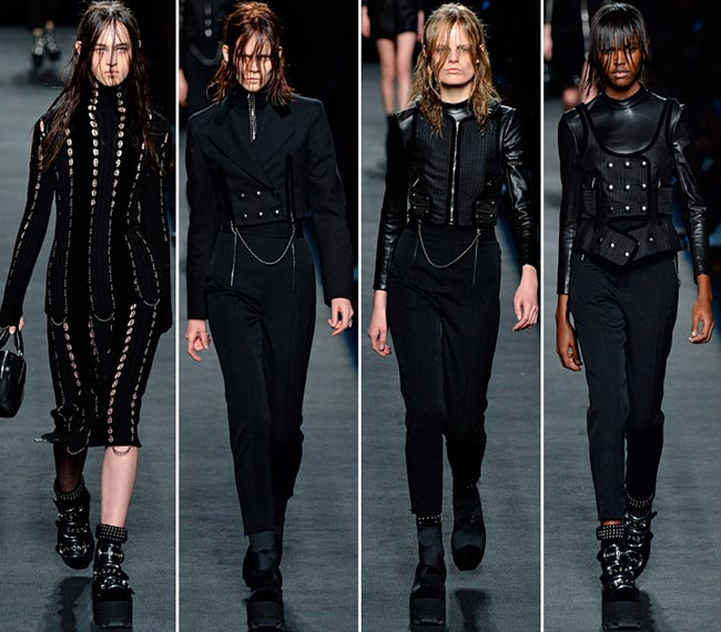 Alexander Wang Fall/Winter 2015-2016 Collection - New York Fashion Week