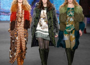 Anna Sui Fall/Winter 2015-2016 Collection – New York Fashion Week