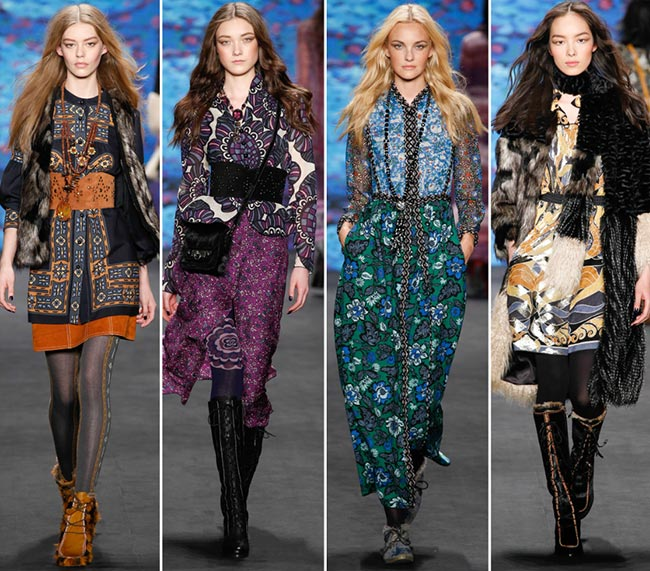 Anna Sui Fall/Winter 2015-2019 Collection - New York Fashion Week