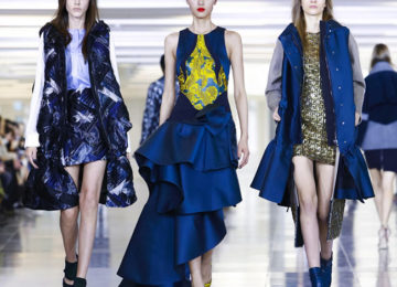Antonio Berardi Fall/Winter 2015-2016 Collection – London Fashion Week