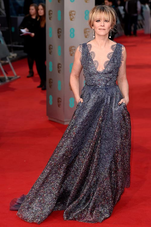BAFTA Awards 2015 Red Carpet Fashion: Edith Bowman