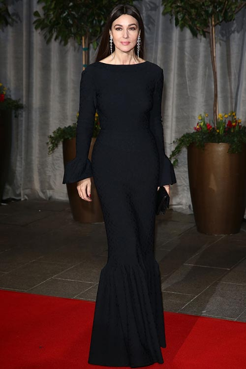 BAFTA Awards 2015 Red Carpet Fashion: Monica Bellucci