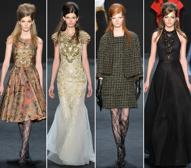 Badgley Mischka Fall/Winter 2015-2016 Collection – New York Fashion Week