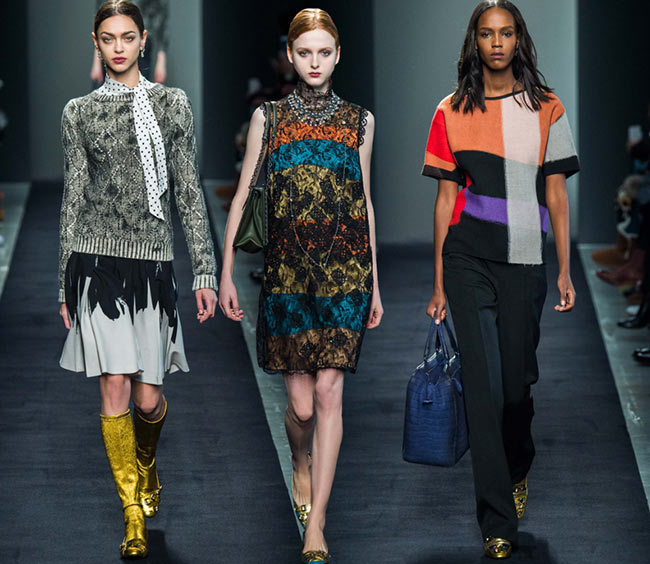 Bottega Veneta Fall/Winter 2015-2016 Collection - Milan Fashion Week