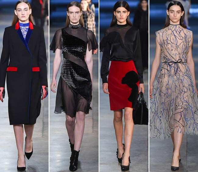 Christopher Kane Fall/Winter 2015-2016 Collection - London Fashion Week