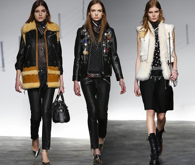 Coach Fall/Winter 2015-2016 Collection – New York Fashion Week