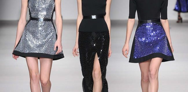 David Koma Fall/Winter 2015-2016 Collection – London Fashion Week
