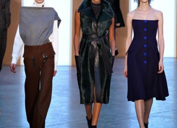 Derek Lam Fall/Winter 2015-2016 Collection – New York Fashion Week