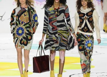 Desigual Fall/Winter 2015-2016 Collection – New York Fashion Week