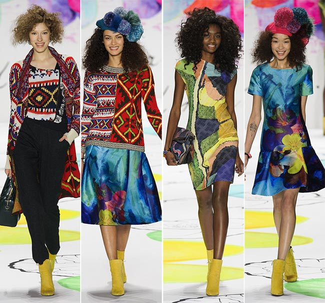 Desigual Fall/Winter 2015-2016 Collection - New York Fashion Week