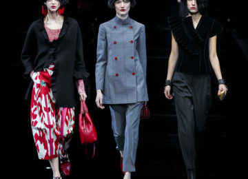 Emporio Armani Fall/Winter 2015-2016 Collection – Milan Fashion Week