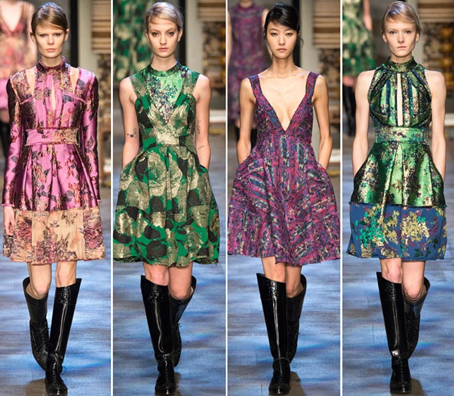 Erdem Fall/Winter 2015-2016 Collection - London Fashion Week
