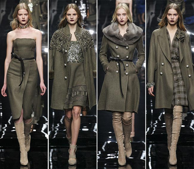 Ermanno Scervino Fall/Winter 2015-2016 Collection - Milan Fashion Week