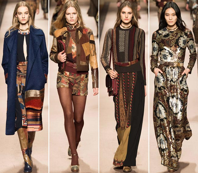 Etro Fall/Winter 2015-2016 Collection - Milan Fashion Week