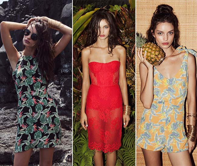 For Love & Lemons 'Pacific Getaway' Spring 2015 Lookbook