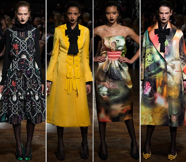 GILES Fall/Winter 2015-2016 Collection - London Fashion Week