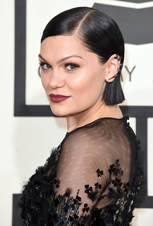 Grammy Awards 2015 Hairstyles and Makeup: Jessie J