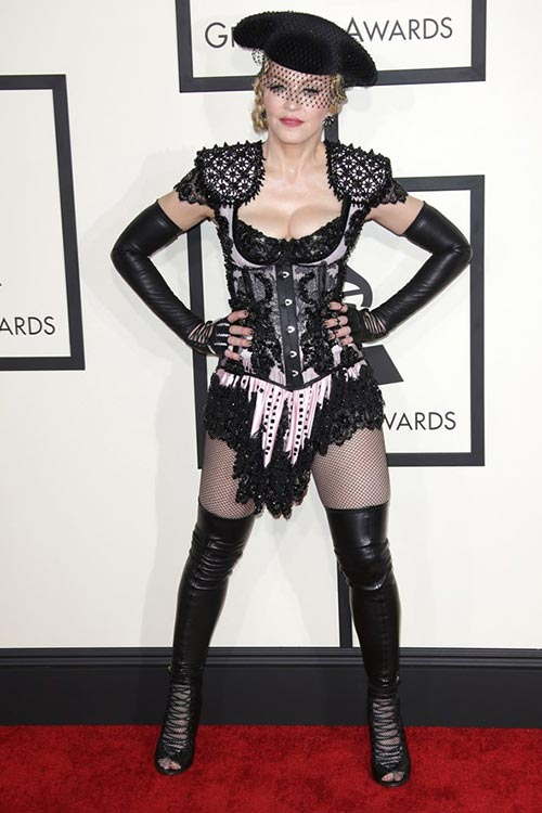 Grammy Awards 2015 Red Carpet Fashion: Madonna
