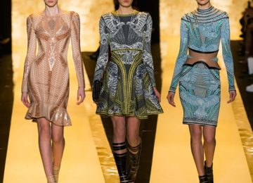 Hervé Léger By Max Azria Fall/Winter 2015-2016 Collection – New York Fashion Week