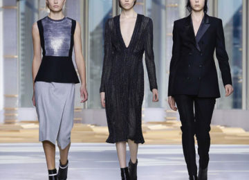 Hugo Boss Fall/Winter 2015-2016 Collection – New York Fashion Week