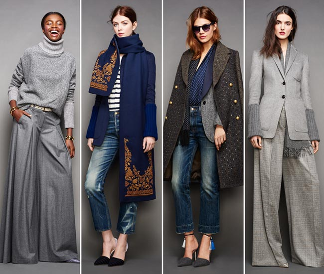 J.Crew Fall/Winter 2015-2016 Collection – New York Fashion Week