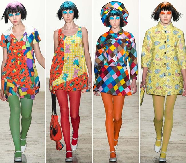 Jeremy Scott Fall/Winter 2015-2016 Collection - New York Fashion Week