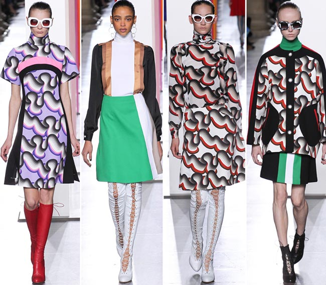 Jonathan Saunders Fall/Winter 2015-2016 Collection – London Fashion Week