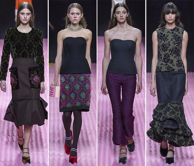 Mary Katrantzou Fall/Winter 2015-2016 Collection – London Fashion Week