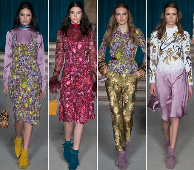 Matthew Williamson Fall/Winter 2015-2016 Collection - London Fashion Week