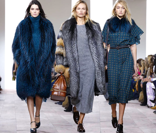 Michael Kors Fall/Winter 2015-2016 Collection – New York Fashion Week