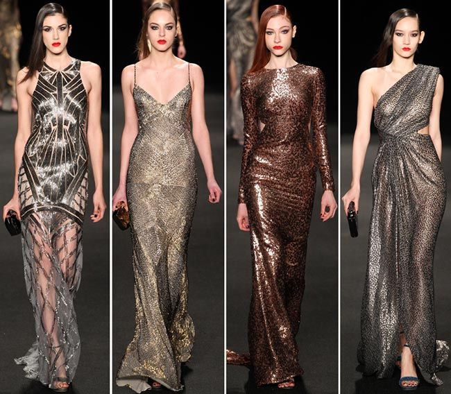Monique Lhuillier Fall Winter 2017 2016 Collection New York Fashion Week