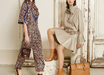 Mulberry Fall/Winter 2015-2016 Collection – London Fashion Week