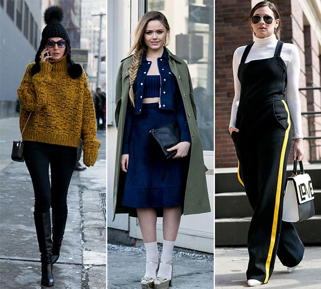 New York Fashion Week Fall 2015 Street Style
