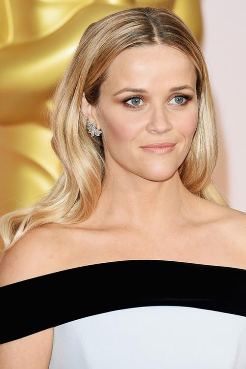 Oscars 2015 Celebrity Hairstyles and Makeup: Reese Witherspoon