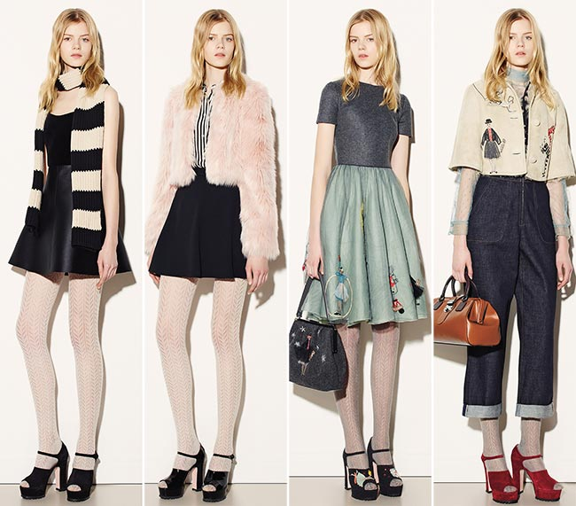 RED Valentino Fall/Winter 2015-2016 Collection - New York Fashion Week